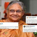 Virender Sehwag, Shikhar Dhawan to Gautam Gambhir, Harbhajan Singh; How Cricket Fraternity Mourned The Death of Former Delhi CM Sheila Dikshit | SEE POSTS