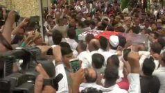 दिल्ली की पूर्व सीएम शीला दीक्षित का राजकीय सम्मान के साथ अंतिम संस्कार