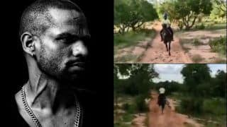 Shikhar Dhawan Does Horse-Riding After Recovering From Injury Ahead of Team India Selection For The West Indies Tour | WATCH VIDEO