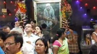 Shirdi Sai Baba's Image Appears on The Wall of Dwarkamai Temple, Devotees Believe he Came to Give 'Darshan'