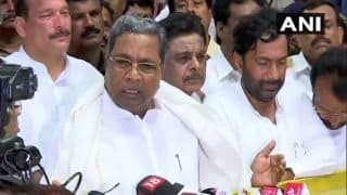 Karnataka Crisis: Cong-JDS to Face Trust Vote on Thursday, Says Siddaramaiah