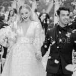 WHAT? Game of Thrones Star Sophie Turner's Dreamy Wedding Dress Took 1,050 Hours to Design And we Are Not Kidding!