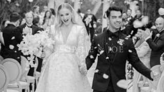 'Mr and Mrs Jonas': Game of Thrones Star Sophie Turner And Joe Jonas Share First Wedding Picture