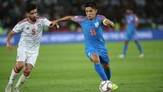 Indian Football Team Moves Down by Two Places to 103 in FIFA Rankings