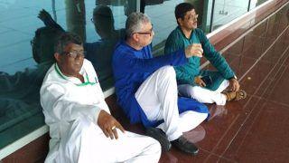 Sonbhadra Massacre: TMC Delegation on Way to Meet Victims' Families Stopped at Varanasi Airport