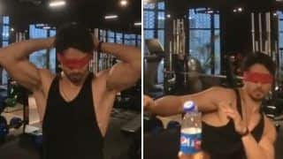 Bottle Cap Challenge: Tiger Shroff Blindfolds Himself as he Takes on The Viral Challenge - Watch