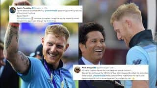 Sachin Tendulkar to Michael Vaughan, How Ben Stokes Was Praised After England Beat New Zealand in Super Over to Lift Maiden World Cup Title | SEE POSTS