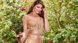 Urvashi Rautela Looks Like a Princess in Pink And Golden Lehenga as She Dons Bride Avatar
