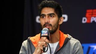 Boxer Vijender Singh Back in Action, Will Take on American Mike Snider