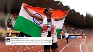 'Hats Off to Your Spirit': India Captain Virat Kohli Lauds Assam Girl Hima Das For Fifth Gold in 18 Days | SEE POSTS