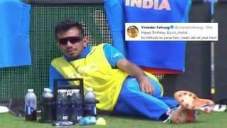 Virender Sehwag Wishes Yuzvendra Chahal in Most Hilarious Way on 29th Birthday | SEE POST