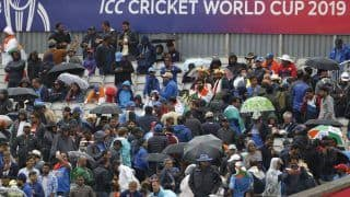 ICC Cricket World Cup 2019: Rain Stops Play With New Zealand on 211/5 in 46.1 Overs