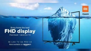 Xiaomi Mi LED TV 4A Pro 43 now available via Amazon India: All you need to know