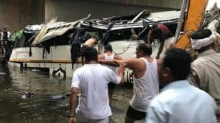 29 Killed, Several Injured as Bus Falls Into Canal on Yamuna Expressway; PM Modi, Others Express Grief