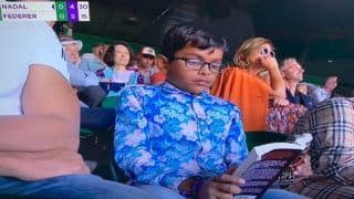 Young Boy Prefers Reading Book Over Roger Federer vs Rafael Nadal Semifinal at Wimbledon 2019, Tennis Fans Show Amusement on Twitter | SEE POSTS