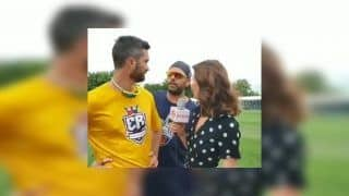 Yuvraj Singh Lovingly Crashes Ben Cutting-Erin Holland's Interview Ahead of Toronto Nationals vs Edmonton Royals' Global T20 Match | WATCH VIDEO
