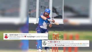 Yuvraj Singh Wins Praise on Twitter After Yet Another Good Knock in GT20 Canada Match Between Toronto Nationals vs Winnipeg Hawks | SEE POSTS