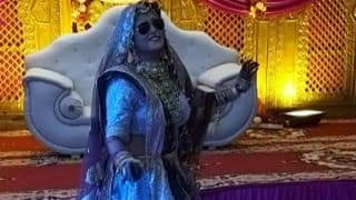VIDEO : अपनी शादी में इस भोजपुरी एक्ट्रेस ने 'काला चश्मा' पर लगाए जबरदस्त ठुमके