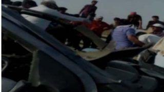 राजस्थान: सड़क किनारे योग कर रहे लोगों को कार ने कुचला, 6 की मौत
