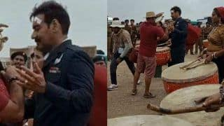 Ajay Devgn's First Look From Bhuj: The Pride of India Leaked, Actor Keeps Moustache as Squadron Leader Vijay Karnik