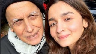 Sadak 2 Schedule Wrap: Alia Bhatt Shares Adorable Picture With Her 'Not so Old Man' Mahesh Bhatt