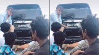 TikTok Video on Scorpio Car Makes Anand Mahindra go LOL, Watch Here