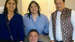 Bigg Boss Fame Anup Jalota Visits Rishi Kapoor And Neetu Kapoor in New York