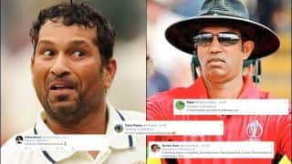 Sachin Tendulkar Shares Bizarre Video Where Ball Hits Stumps But Batsman Remains Not-Out, Fans Hilariously Troll Kumar Dharmasena | WATCH