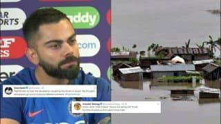 Virat Kohli Extends His Prayers For Flood-Ravaged Assam on Twitter; Formers Cricketers Also Join in With Condolences | SEE POSTS