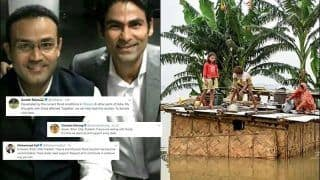 Former Cricketers Virender Sehwag, Mohammad Kaif, Suresh Raina Joins Hand to Help People Affected in Flood, Request People to Donate For Flood Relief Fund | SEE POSTS