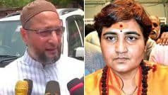 'Not at all Surprised, That's Her Thought Process', Owaisi on Pragya Thakur's 'Not Elected to Clean Toilets' Remark