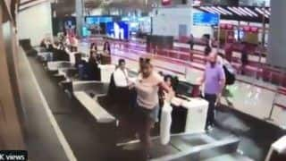 Viral Video: First-Time Flyer Steps on Conveyor Belt With Luggage Thinking it Leads to Jet