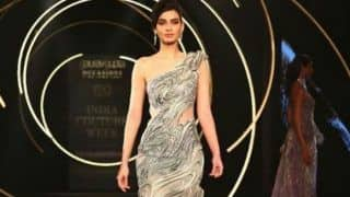Diana Penty's 'Undercurrent' Ramp Walk Sizzles India Couture Week 2019, Marks 15 Years of Gaurav Gupta in Industry