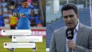 Fans Hilariously Troll Sanjay Manjrekar For Bashing Mahendra Singh Dhoni After India Beat Bangladesh In ICC World Cup 2019