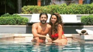 Farhan Akhtar Poses With a Bikini-Clad Shibani Dandekar in a Sexy Picture From Their Thailand Vacay