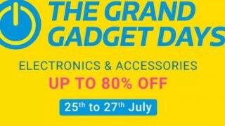 Flipkart Grand Gadget Last Days Sale: Laptop 12 हजार से शुरू, स्मार्ट डिवाइसेज समेत कई प्रॉडक्ट्स पर 80% तक का डिस्काउंट