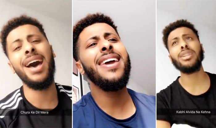 Dutch Man is a Huge Bollywood Fan And Sings All Hindi Songs | Video