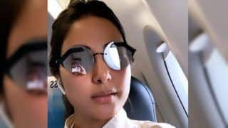 Hina Khan Treats Fans With Stylish Picture in Sunglasses as She Returns to Mumbai
