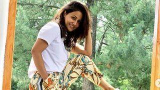 विदेश में जमकर पोज़ दे रही हैं Hina Khan, बॉयफ्रेंड संग मना रही हैं हॉलीडे