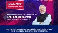 'Howdy Modi!' Says Indian-American Community as PM Set For Address in US on July 22