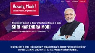 Modi in Houston: Here's What 'Howdy' Means in The Name of PM's Mega Event