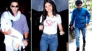 Watch: All The 'Rainy' Sightings of Bollywood Celebrities Amid Mumbai Rains