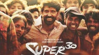 Hrithik Roshan Starrer Super 30 Declared Tax-Free in Rajasthan