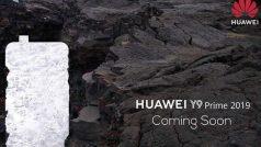 Huawei Y9 Prime (2019) भारत में पॉप अप कैमरा के साथ जल्द होगा लॉन्च