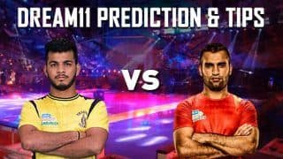 Dream11 Team HYD vs MUM Pro Kabaddi League 2019 - PKL Prediction Tips For Today's Match Telugu Titans vs U Mumba at Gachibowli Indoor Stadium
