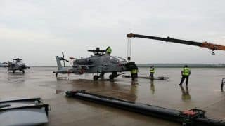 IAF Gets First Batch of Boeing AH-64E Apache Guardian Attack Helicopters From US