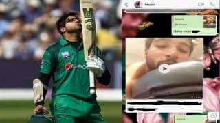 Leaked WhatsApp Screenshots on Twitter Expose Pakistani Cricketer Imam-ul-Haq; Finds Himslef in Middle of #MeToo Controversy | SEE POSTS