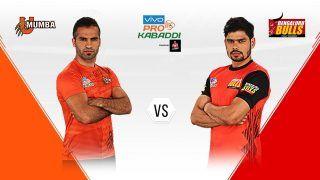 Pro Kabaddi League 2019, U Mumba vs Begaluru Bulls Highlights, MUM vs BLR Match 14: Bengaluru Stages Comeback in Dying Minutes to Beat Mumbai 30-26