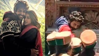 Kartik Aaryan Sheds Tears as he Hugs Imtiaz Ali After Wrapping up His Film With Sara Ali Khan - Viral Video