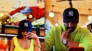 Arjun Kapoor And Malaika Arora Are Giving Couple Goals in Neon Outfits With Same Pose